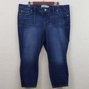 Torrid Skinny Capri Jeans plus size 22